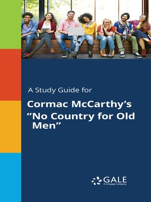 "cover image of A study guide for Cormac McCarthy's ""No Country for Old Men"""